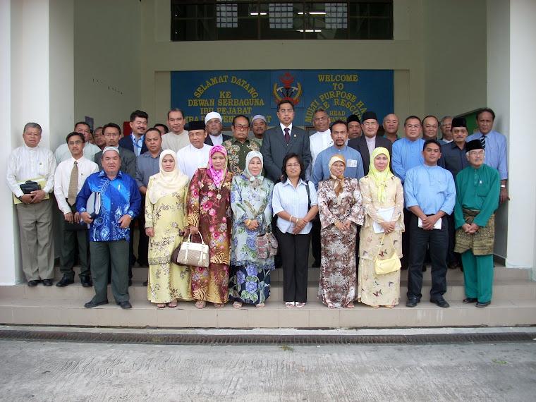 YB Menteri HEDN, YDM Timbalan Menteri, Pemangku Setiausaha Tetap