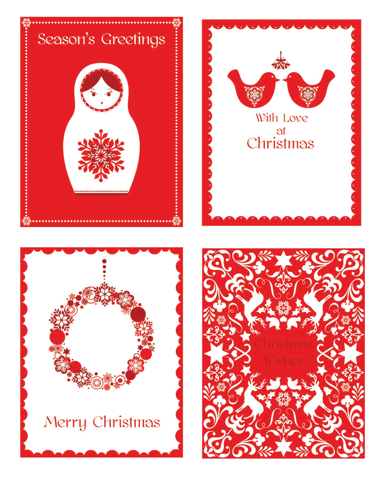 Hiccup Studio Designs: Scandinavian Christmas Collection