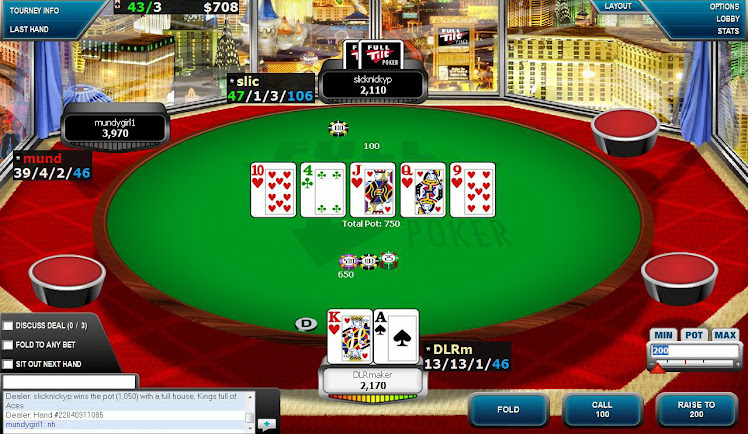 Straight flush num sit de 5,50$ 6max