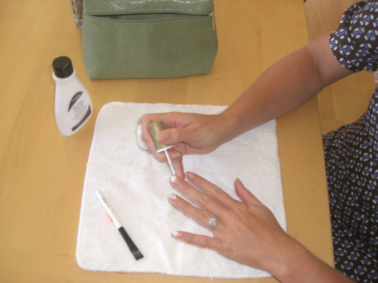 Do it yourself french manicure brittany herself curvy girl guide heres what you need solutioingenieria Gallery