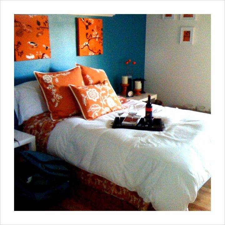 Teal bedroom - Weddingbee