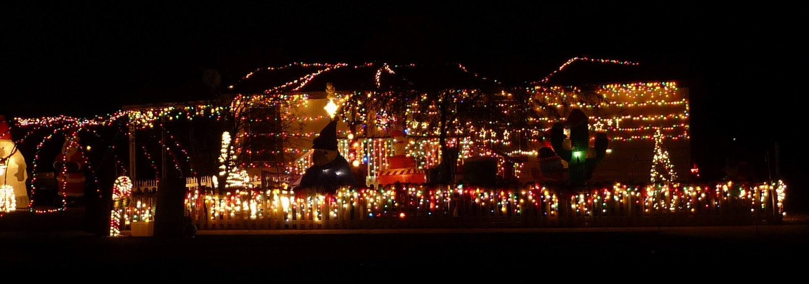 Wonderful CHRISTMAS LIGHTS, TUCSON, 12 19 10
