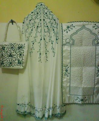 ys001 mukena aqsa madina lengkap dengan tas sajadah bah
