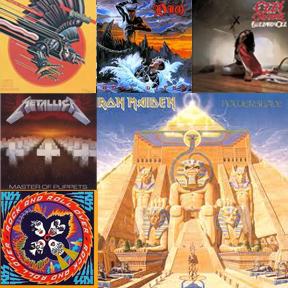 Iron Maiden Powerslave Album Cover