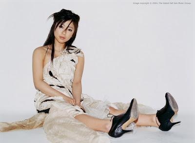 Utada Hikaru Style feet