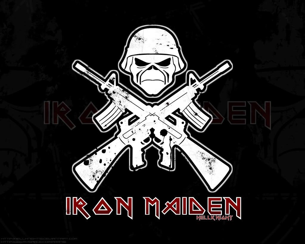 Iron Maiden Wallpaper By Hellknight