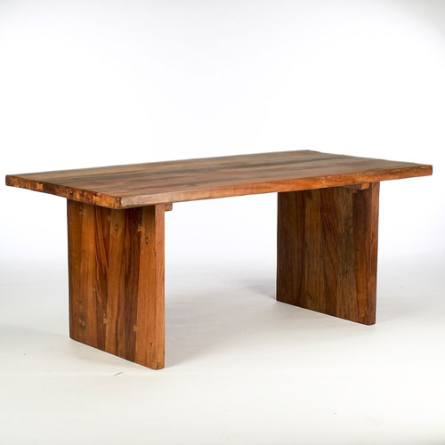 Reclaimed Wood Seam Table