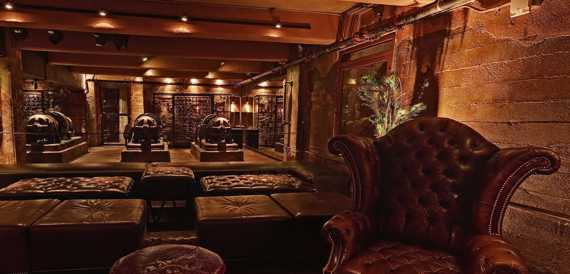 Steampunk Interiors Images Reverse Search - Steampunk living room