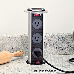 Kitchen Island Electrical Outlet enzy living: alternatives to ugly outlets in kitchen islands