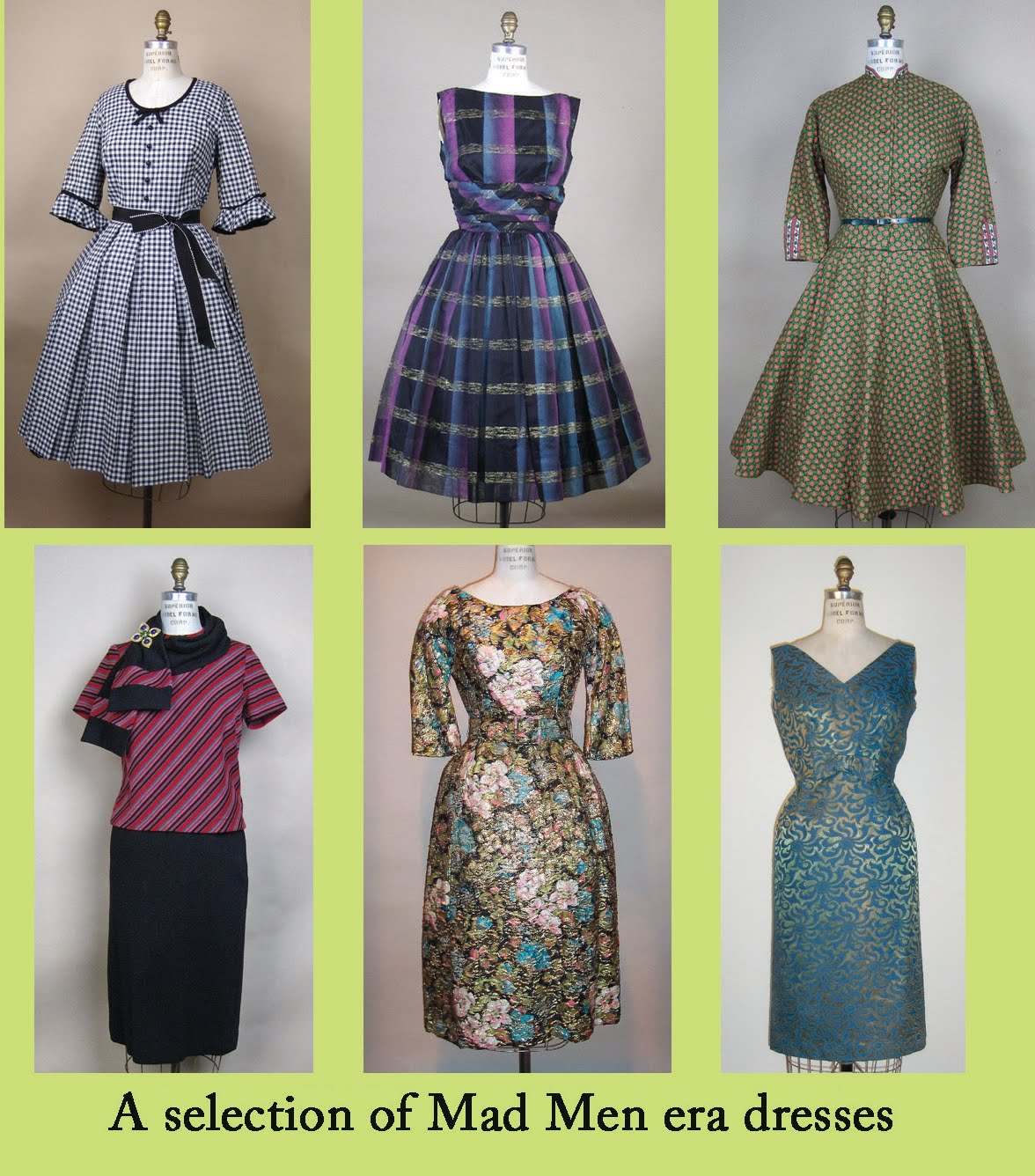 A Vintage Ramble: How to dress for that Mad Men Party