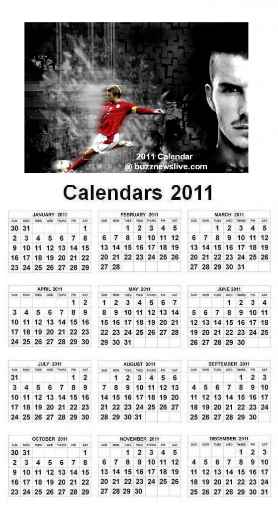 david beckham 2011 calendar pictures. KELAB MAN UTD MALAYSIA