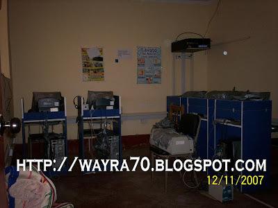 Cabinas de Internet en Sarhua