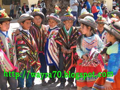 Niños de Sarhua, Fajardo, Ayacucho