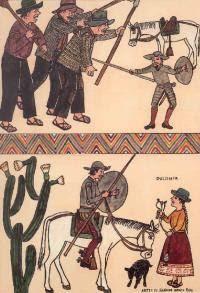 ILUSTRACIÓN DEL INGENIOSO HIDALGO DON QUIJOTE DE LA MANCHA, EN SU VERSIÓN EN QUECHUA - ADAPS