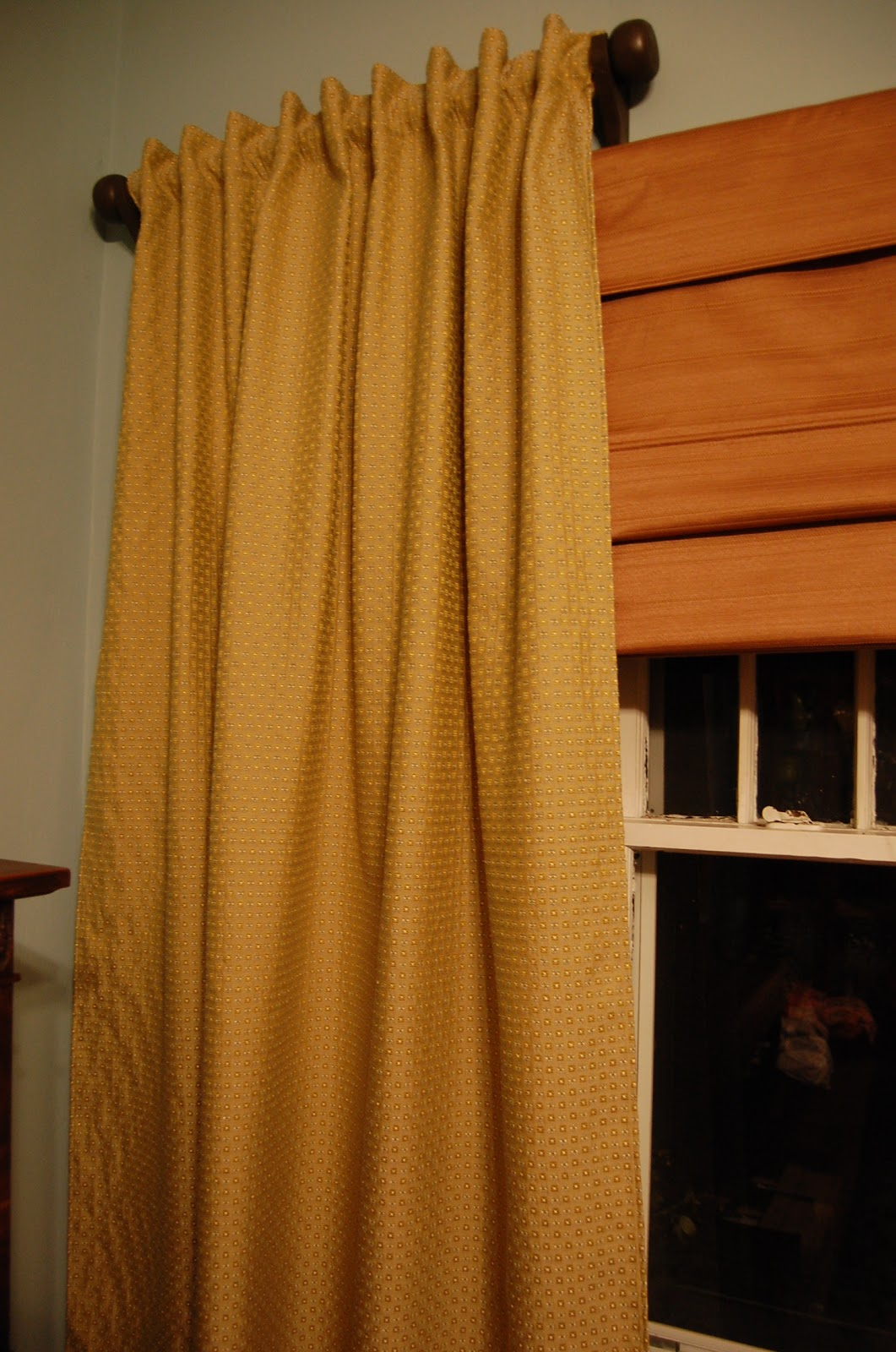 Henry homestead diy drapery rods Short curtain rods