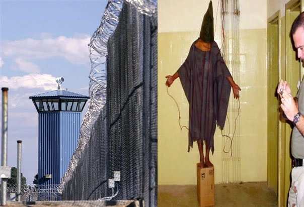 None of the images are thought to originate from Iraq s notorious Abu  Ghraib prison  AFP