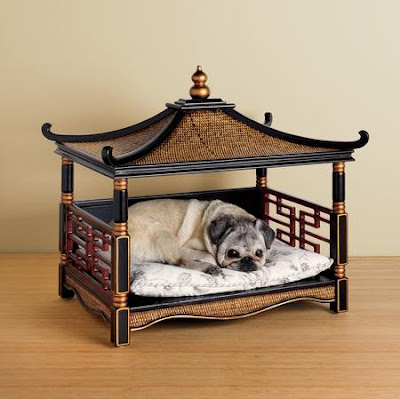 Chinoiserie chic the pagoda dog bed for And so to bed