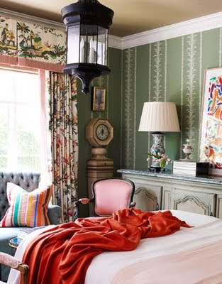 Curtains Ideas chinoiserie curtains : Chinoiserie Chic: Chinoiserie Window Treatments