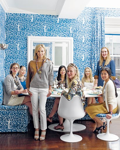 Tory Burch At Home With Chinoiserie