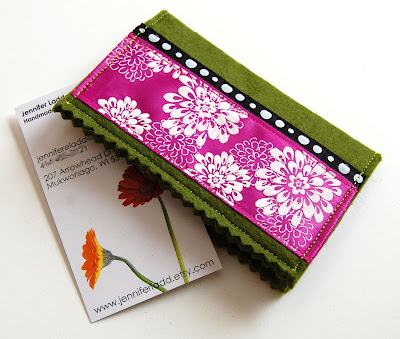 linnygirl designs handmade business card holder tutorial