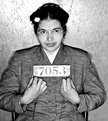 good thesis for rosa parks