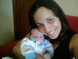**Eu e a mamãe**