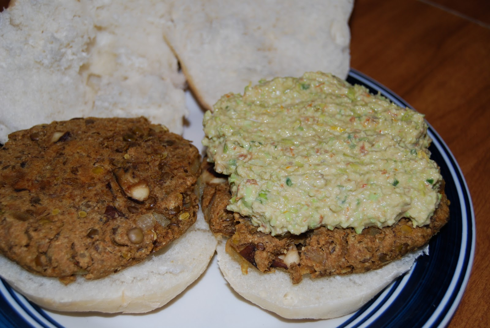 Vegan Dinners for One: Green Lentil Patties with Spicy ...