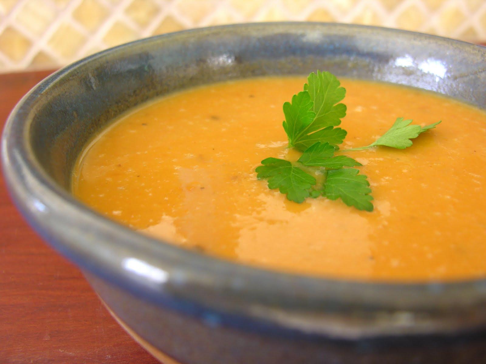 Coconut Sweet Potato Soup - HOMEGROWN