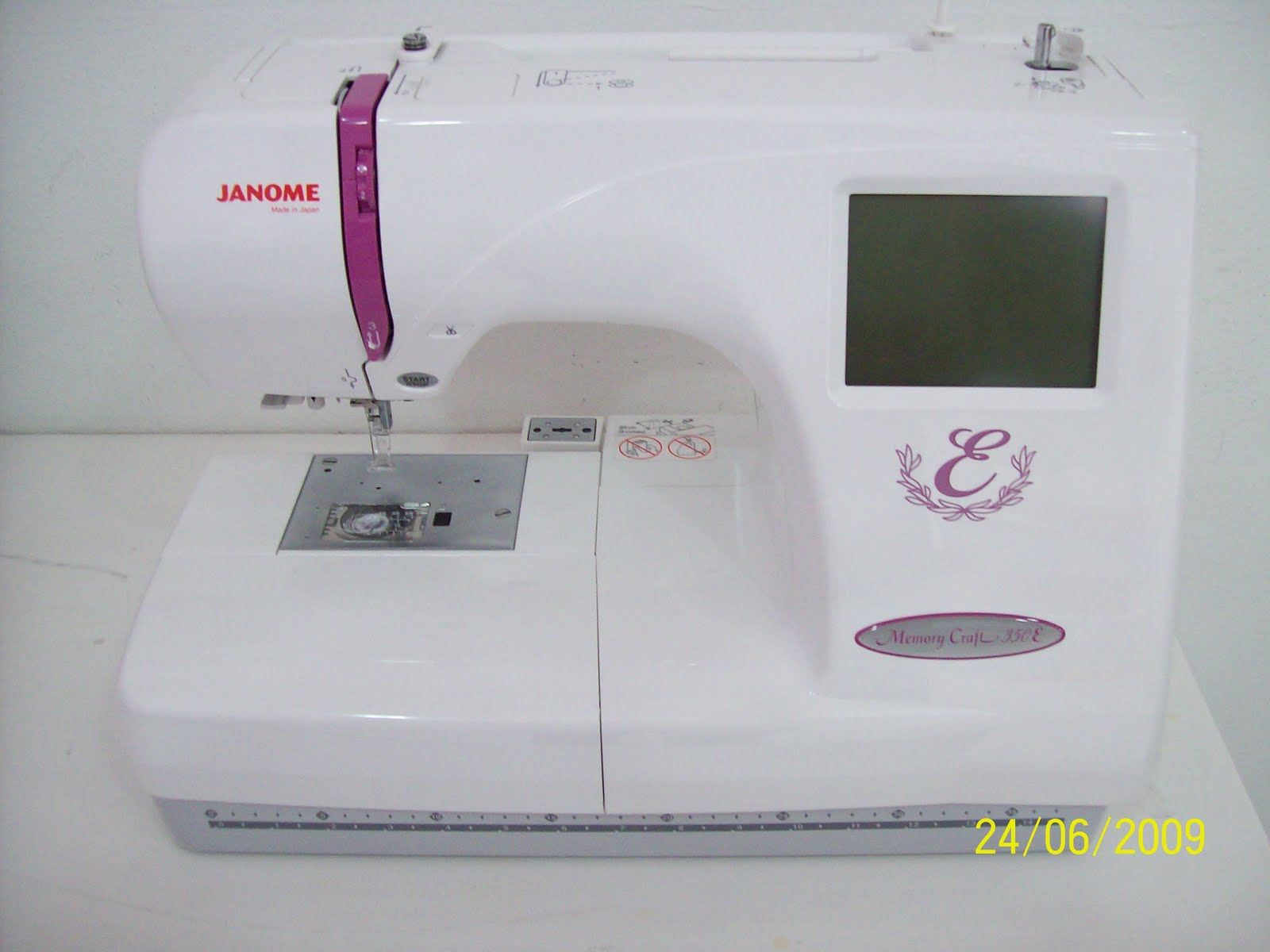Dihah maju enterprise mesin sulaman utk dijual for Janome memory craft 350e manual