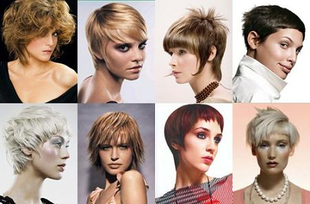 Punk Women short hairstyle