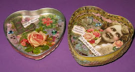 Valentine tin inside