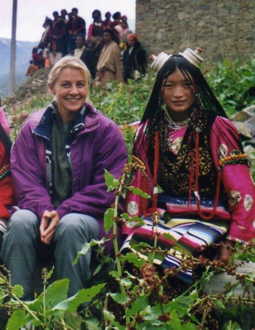 Yvanna-Tintin au Tibet