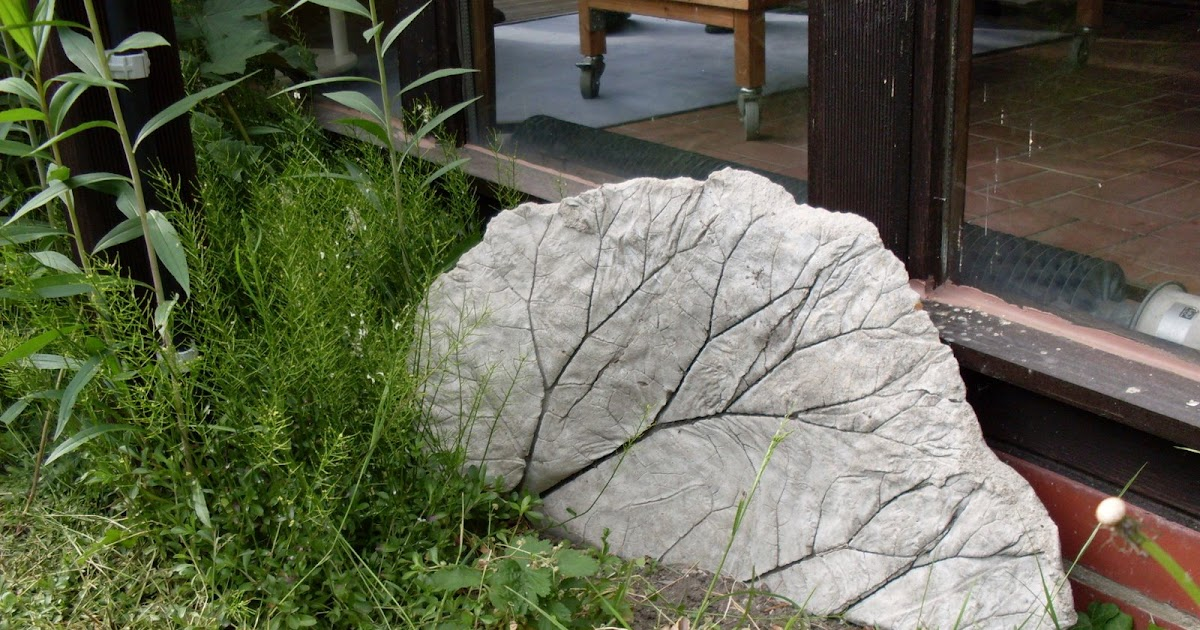 Garten anders betondruck kleine kunstwerke selbst erstellen - Garten skizze erstellen ...