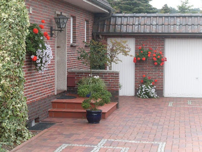 garten-anders: neulich in dangast: was ist ein hübscher hauseingang?, Gartenarbeit ideen