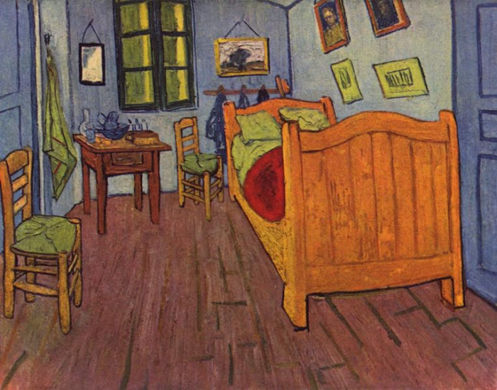 "Postimpresionismo: ""Vincent's Bedroom in Arles"" - Van Gogh"