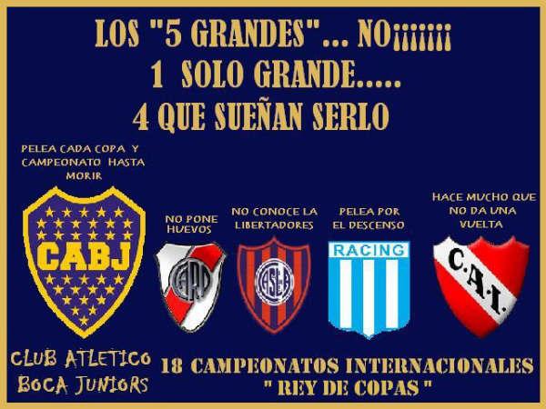 Afiches del Futbol Argentino (cargadas)