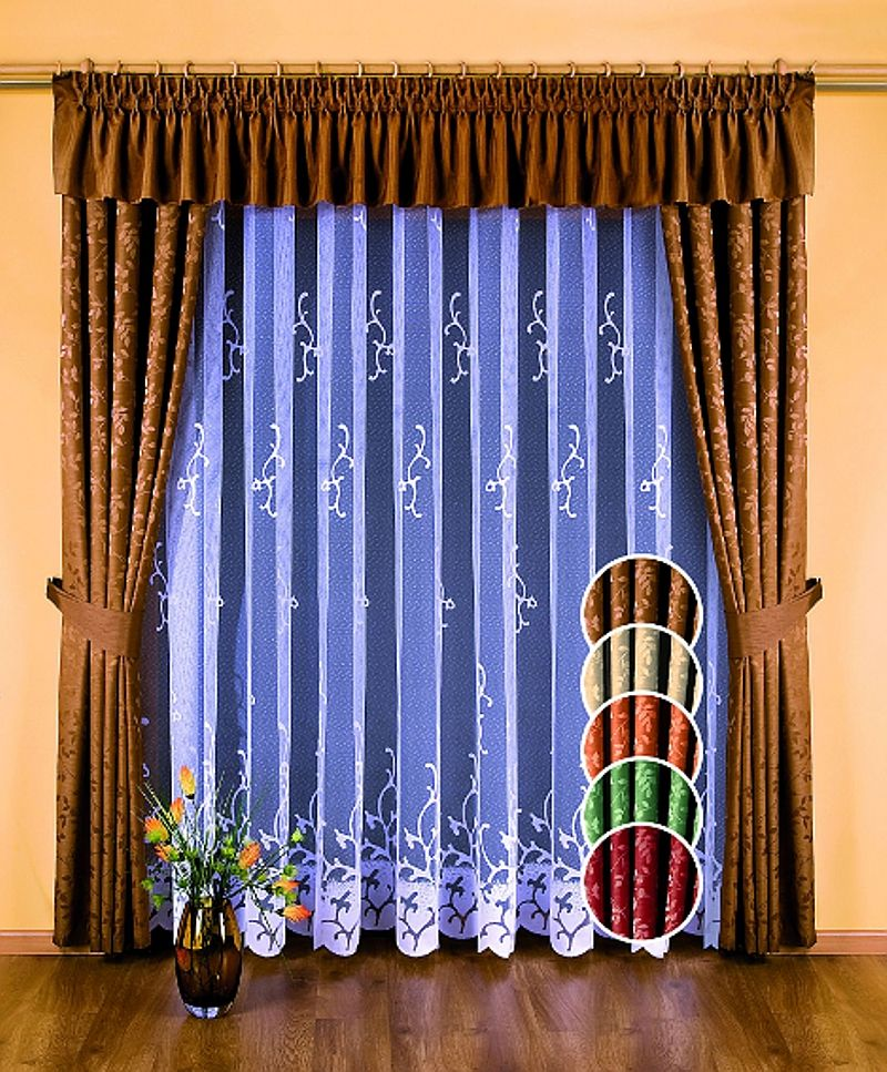 SHEER CURTAINS AND DRAPES