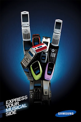 Samsung &#8220;Express Yourself&#8221; Advertisement