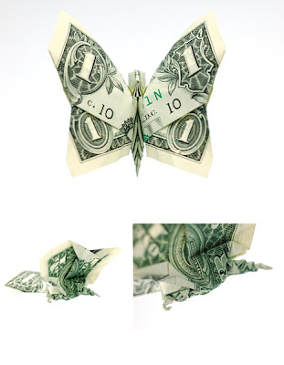 one dollar butterfly