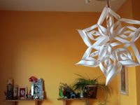 How To Make The Most Beautiful Paper Snowflake Ever! a spectacular - origami like - snowflake deco