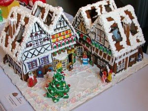 Charles Dickens's A Christmas Carol Gingerbread House