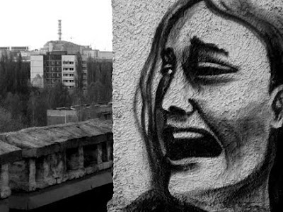 Harrowing Graffiti That Haunts the Ruins of Chernobyl