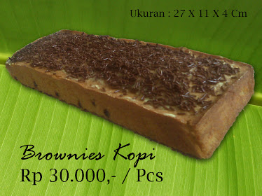 Brownies Kopi