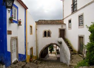 Obidos, the white walled town