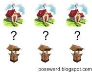 дома и колодцы