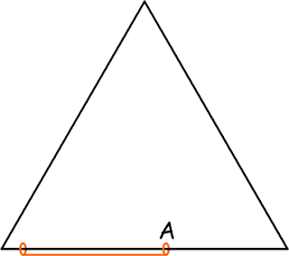 Треугольник из проволоки