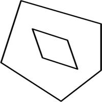 Пятиугольник из параллелограммов