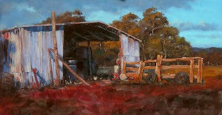 landscape painting andy dolphin