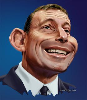 politics tony abbott caricature