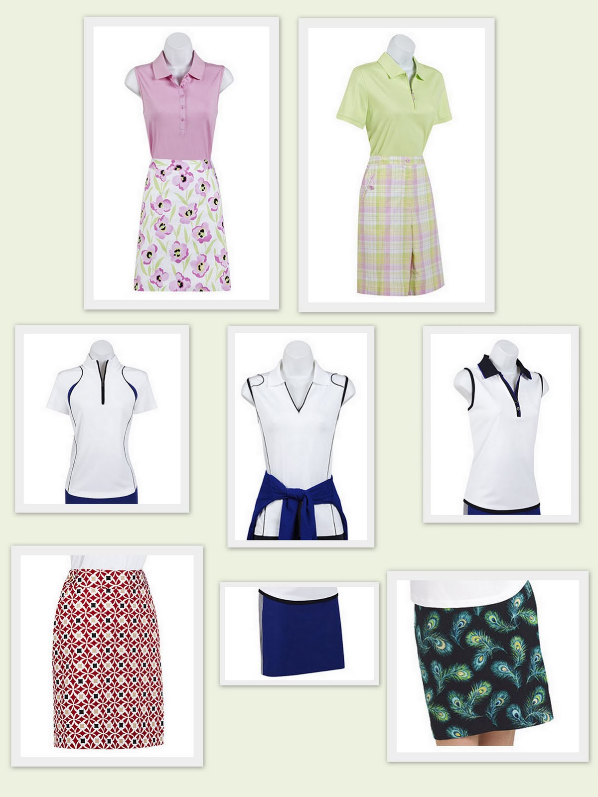 Ladies  golf fashions are making it to the local eateries with ease. EP Pro  has designed Tour Tech fashions that look as good on the fairways as they  do in ... 99626fa70c5